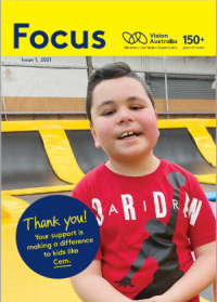Front cover of Focus newsletter edition 1 2021. Image of Cem