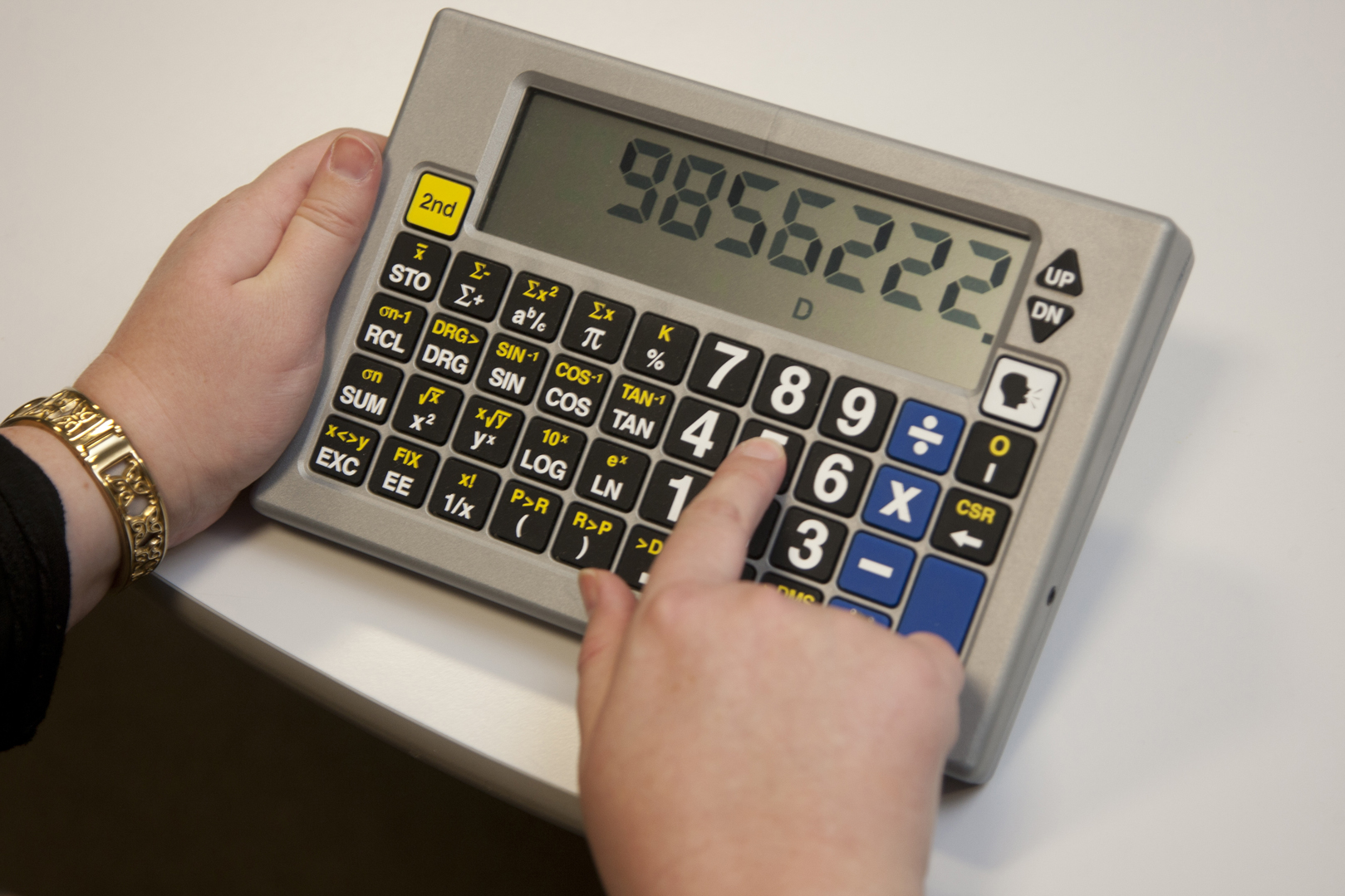large print talking scientific calculator